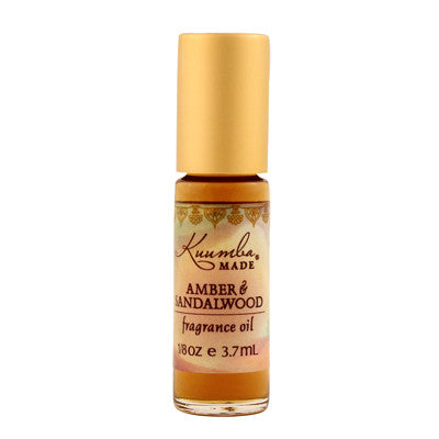 Kuumba Made Fragrance Oil - Amber and Sandalwood