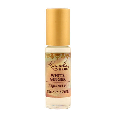 Kuumba Made Fragrance Oil - White Ginger