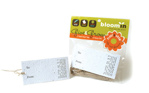 Bloomin Give and Grow Gift Tags