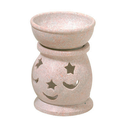 Moon and Stars Mini Soapstone Oil Diffuser