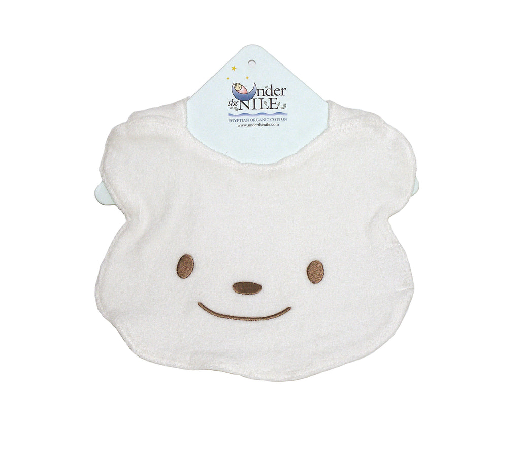 Bear Bib - 100% Organic Cotton
