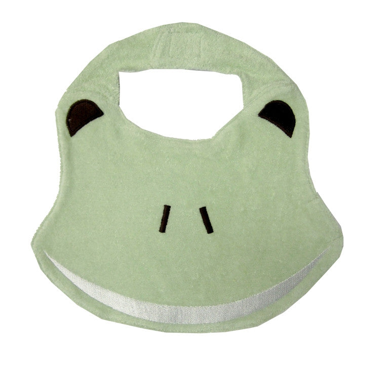 Frog Bib - 100% Organic Cotton