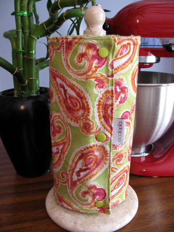 UnPaper Towels by Ecotopia - Watercolor Paisley