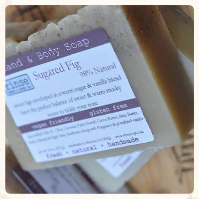 Rinse Sugared Fig Soap