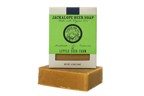Little Seed Farm Goat Milk Beer Soap - Thunder Ann