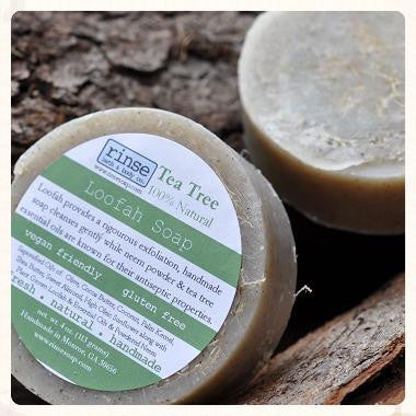 Rinse Tea Tree Loofah Soap
