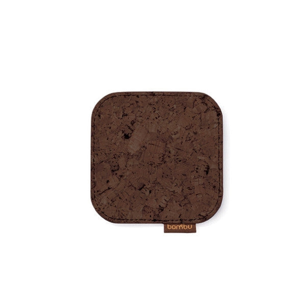 Bambu Natural Cork Coasters -  Set of 4