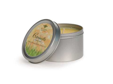 Big Dipper Outdoor Tin Candle - Citronella and Cedarwood