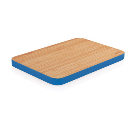 Bambu Small Bamboo Cutting Board - Cobalt