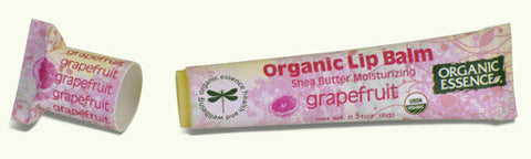 Organic Essence Organic Lip Balm - Grapefruit