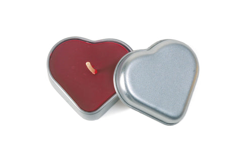 Big Dipper Heart Tin Travel Candle - Red Hot
