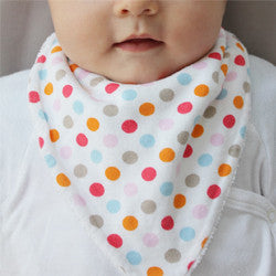 Scrappy Dribble Bib - 100% Organic Cotton