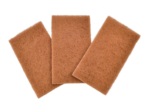 Neat Nut Walnut Shell Scour Pads -  Set of 3