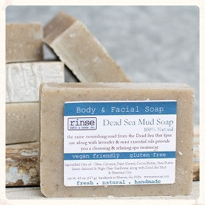 Rinse Dead Sea Mud Soap