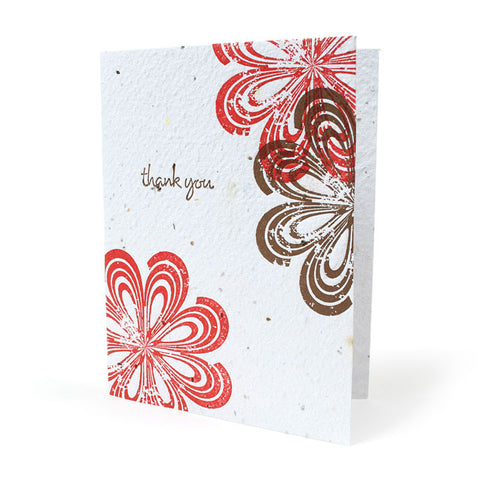 Bloomin Greeting Card - Tropical Thanks