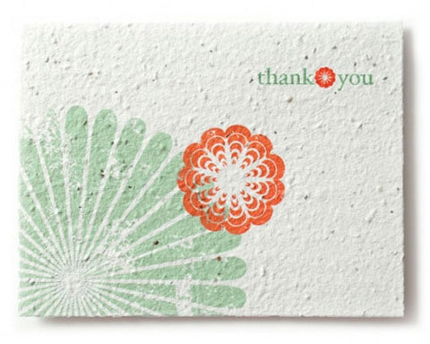 Bloomin Thank You Greeting Card - Cherry Blossom