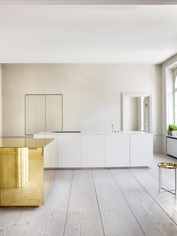 Apartment With Brass Cube : Claesson Koivisto Rune