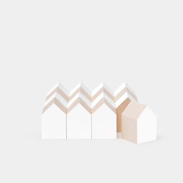Archiblocks House White