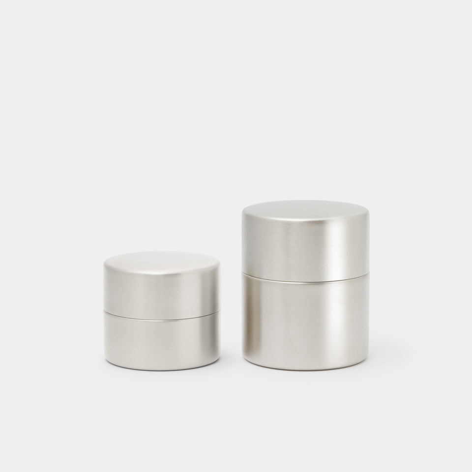 Azmaya Canister Tin-Plated Copper Small and Medium