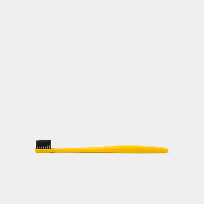 Binchotan Charcoal Toothbrush – Yellow