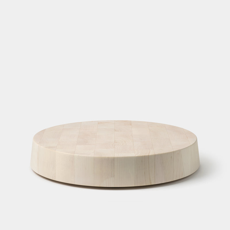 Blackcreek Mercantile Butcher Block Round Blonde Maple