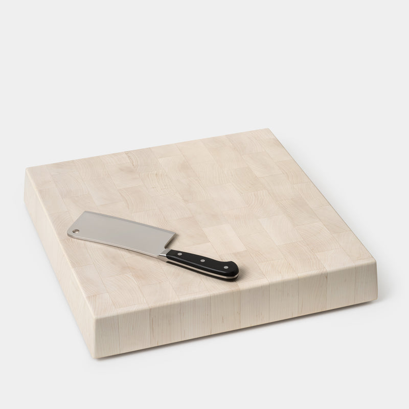 Blackcreek Mercantile Butcher Block Square Blonde Maple