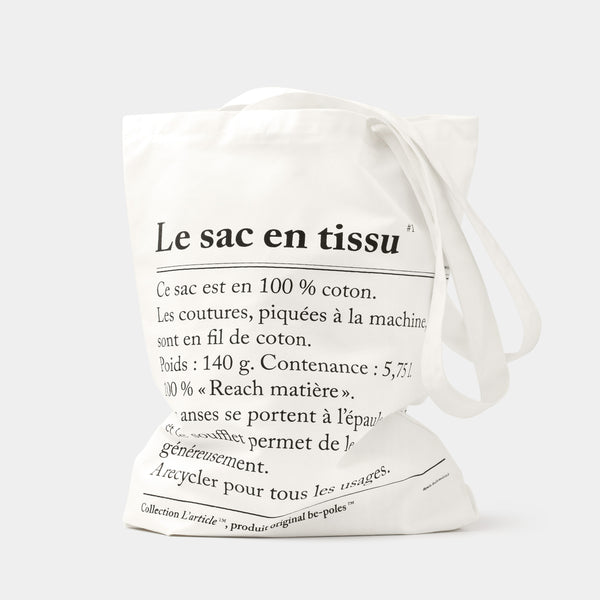 Collection L'article Cloth Bag