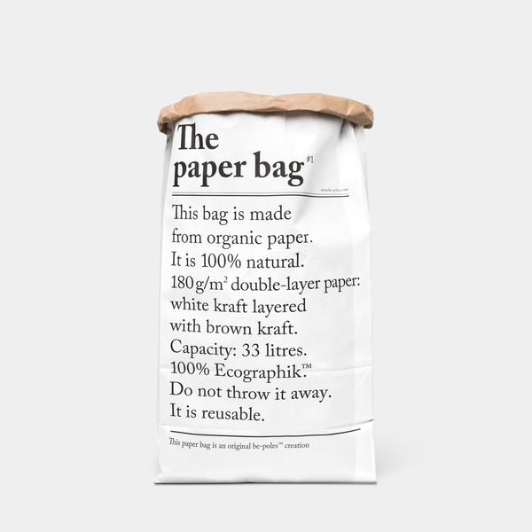 Collection L'Article Paper Bag back