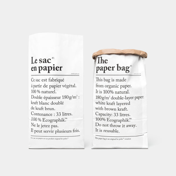 Collection L'Article Paper Bag front and back