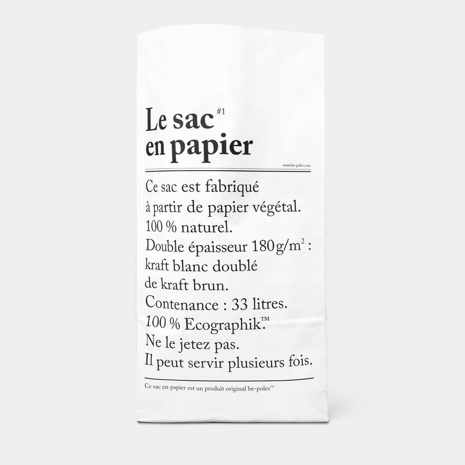 Collection L'Article Paper Bag front