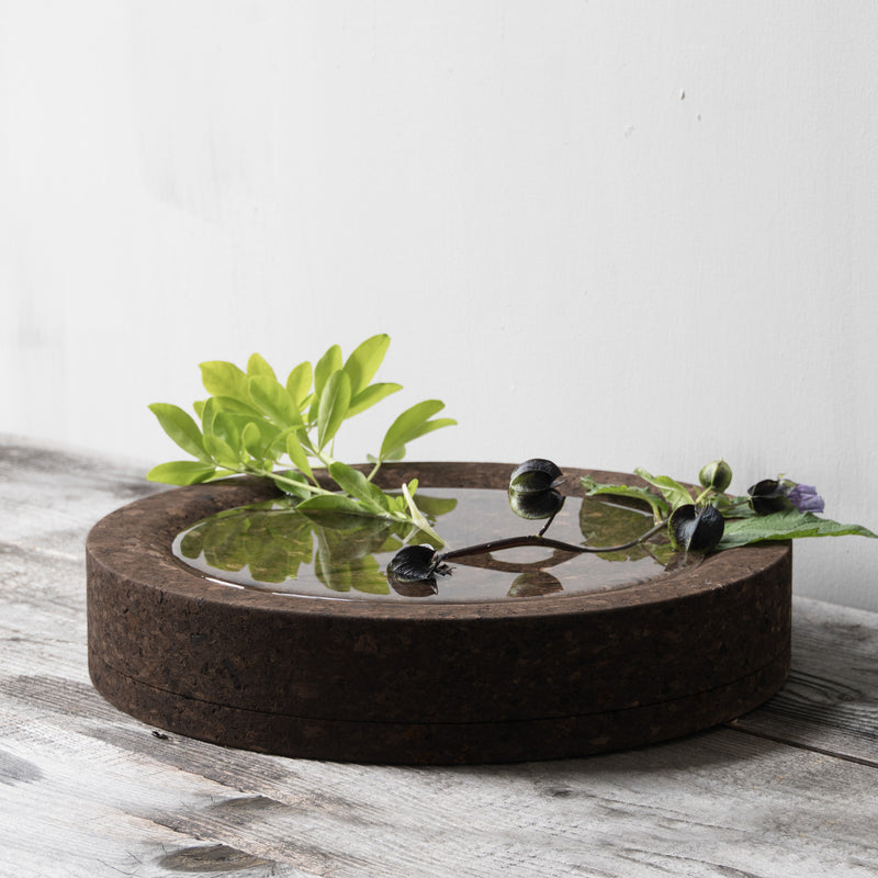 Corkinho Mother Bowl with plant