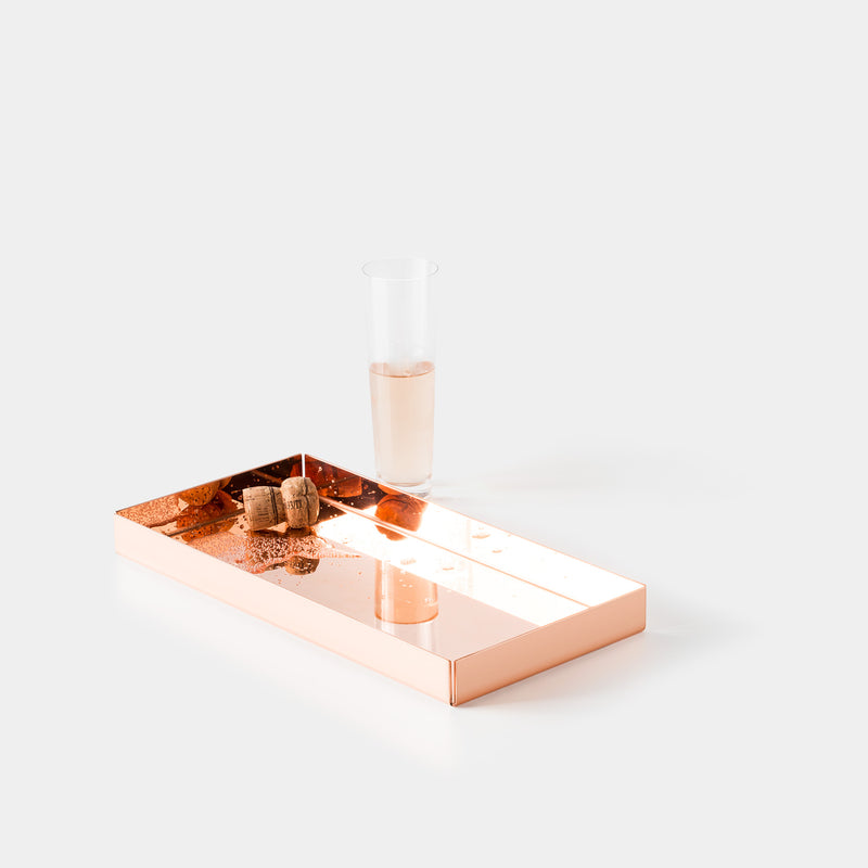 E15 Ito Tray with Champagne Glass