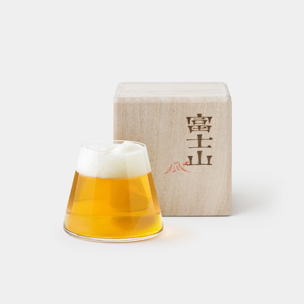 Fujiyama Beer Glass with Box