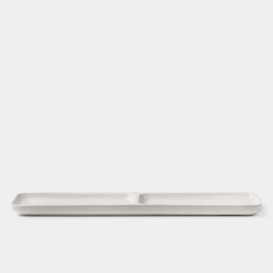 Gidon Bing Desk Tray Bone Crackle