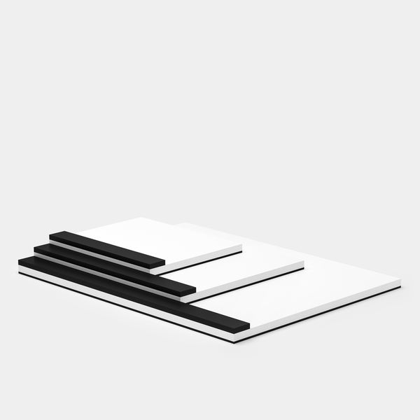 Ito Bindery Drawing Pad White Group Small A6 Medium A5 Large A4 angle