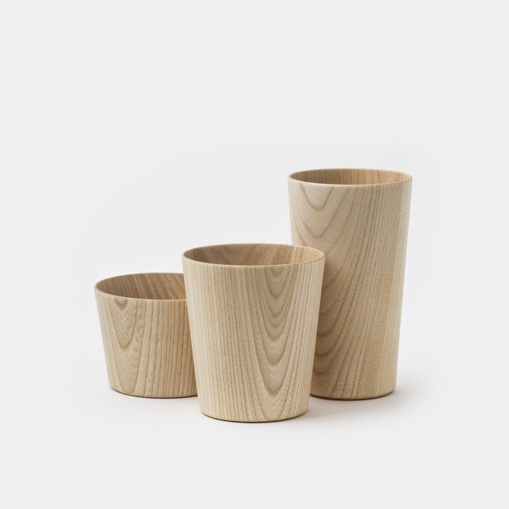 Kami Wood Cups Medium Tall Bowl