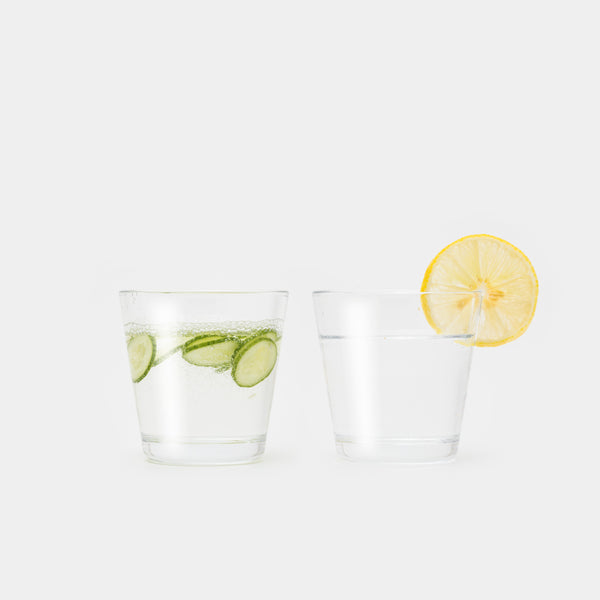 Kartio Small Set of Two with lemon and cucumber