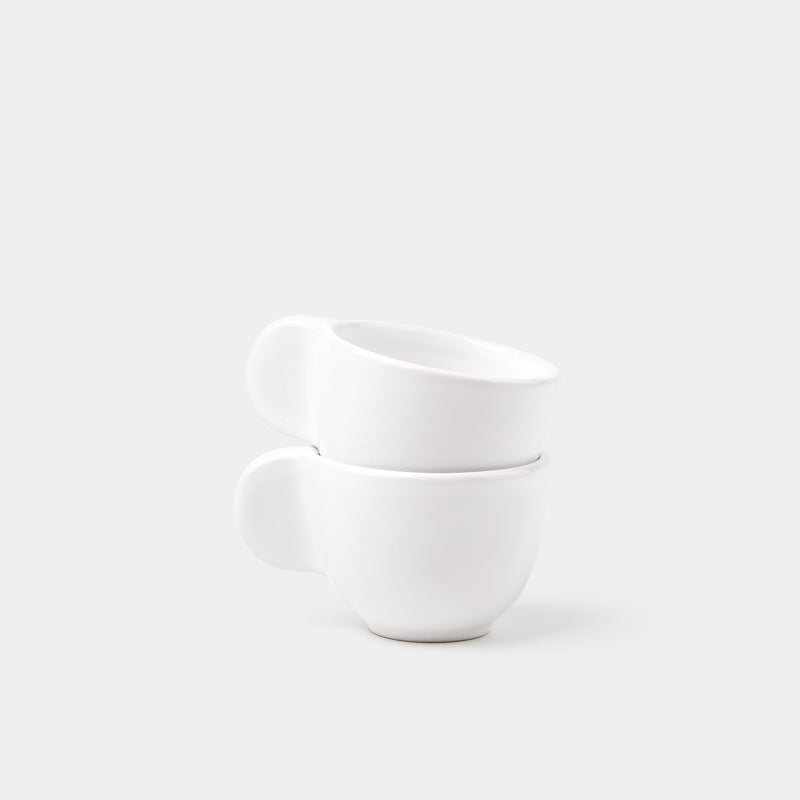 Little Big Ear Espresso Cup (Set of Two) stacked
