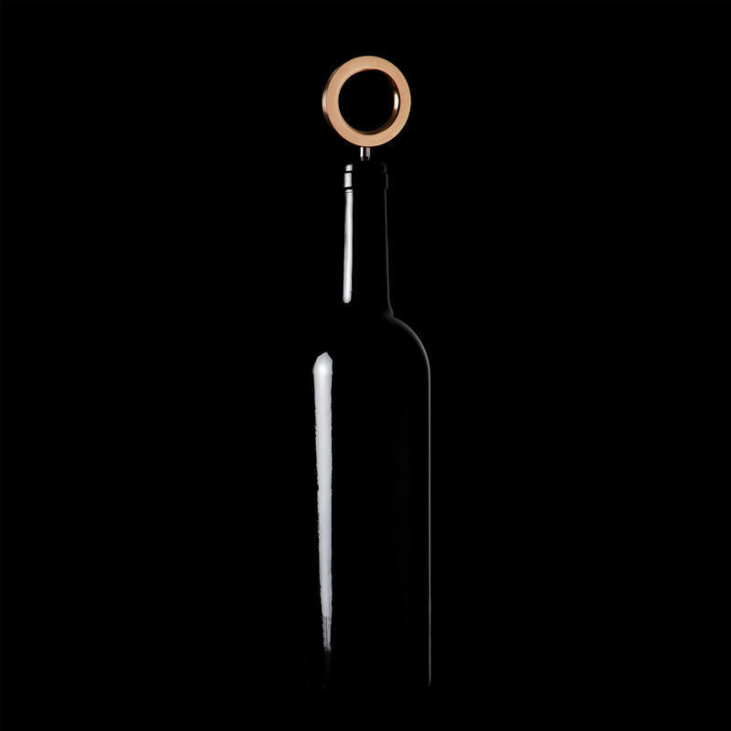 O Corkscrew with bottle