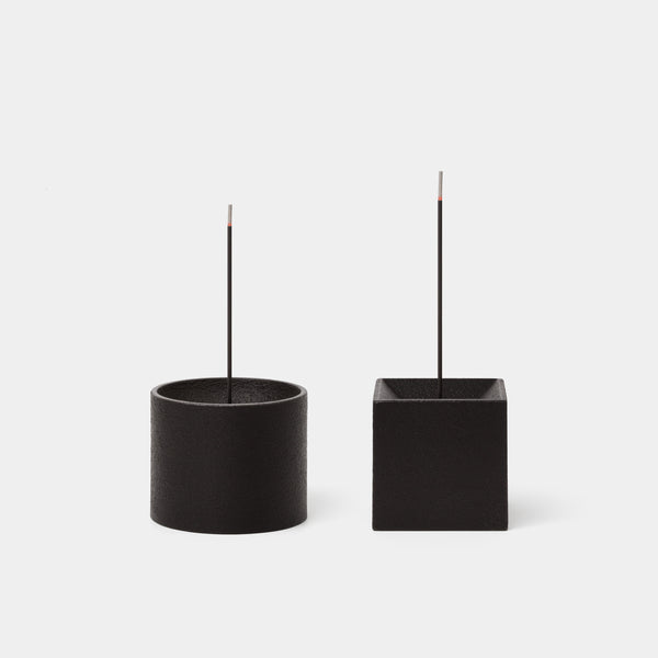 Quolo Incense Holder Cylinder and Cube