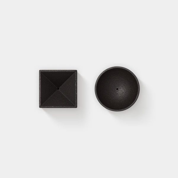 Quolo Incense Holder Cylinder and Cube top