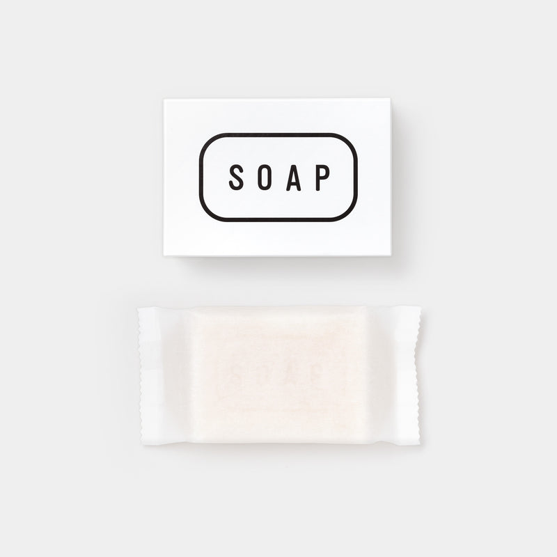 THE Soap with packaging box top