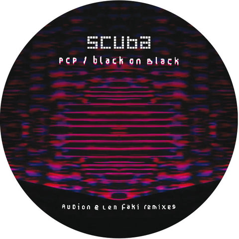"Scuba - PCP / Black on Black (12"" Vinyl EP)"