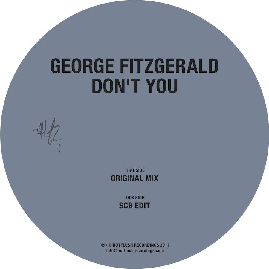 HFT014D - Don't You - George FitzGerald