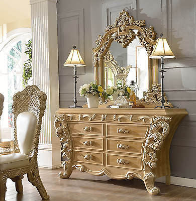 HOMEY DESIGN HD-7012 BUFFET AND MIRROR