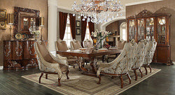 ROYAL LUXURY SWAN WITH GOLDEN TOUCH  9PCS DINING SET HD-124