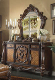 VersaillesCherry/ Tone light Brown  4Pc Queen Bedroom Set By Acme  WAC2110+Bench