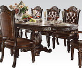 Formal  Traditional Vendome Cherry 7 Pc  Dining Room Set