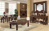 Luxury Formal Cherry Console Set (2 Pc.)