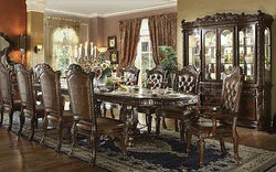 Formal  Traditional Vendome Cherry 11 Pc  Dining Room Set